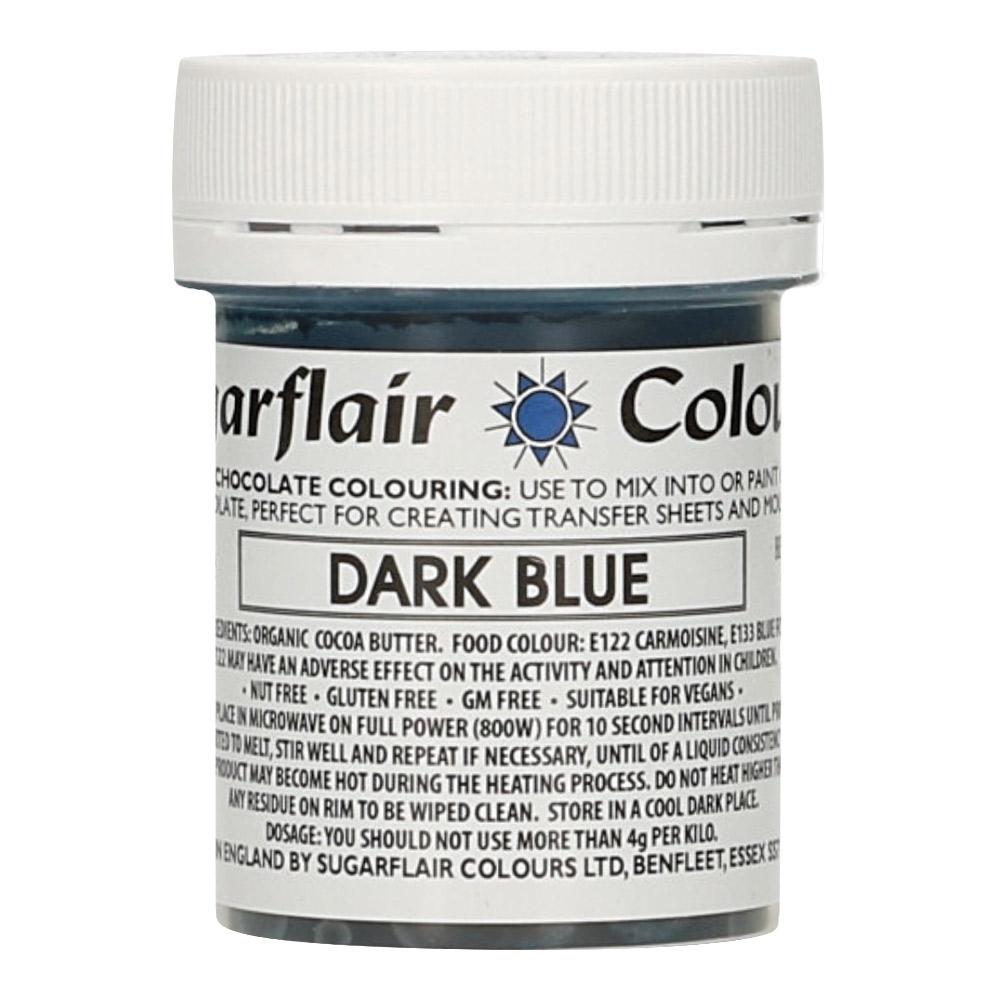 Colorante para Chocolate Azul Oscuro 35 gr - Sugarflair