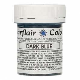 Colorante para Chocolate Azul Oscuro 35 gr - Sugarflair