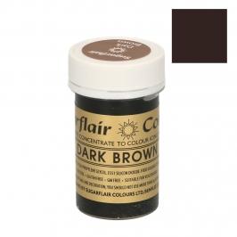 Colorante Sugarflair color Marrón oscuro