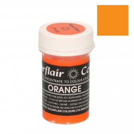 Colorante Sugarflair color Naranja pastel