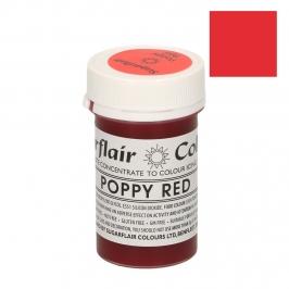 Colorante Sugarflair color rojo Amapola