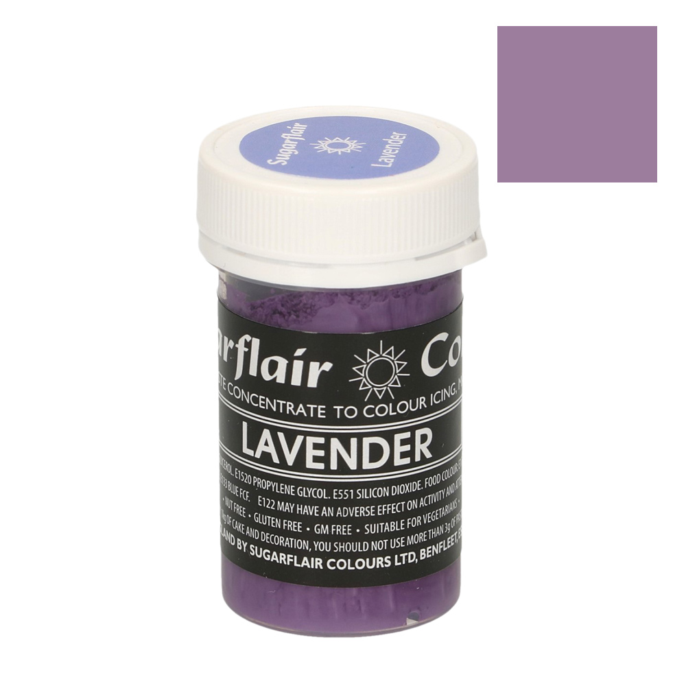 Colorante Sugarflair Pastel color Lavanda