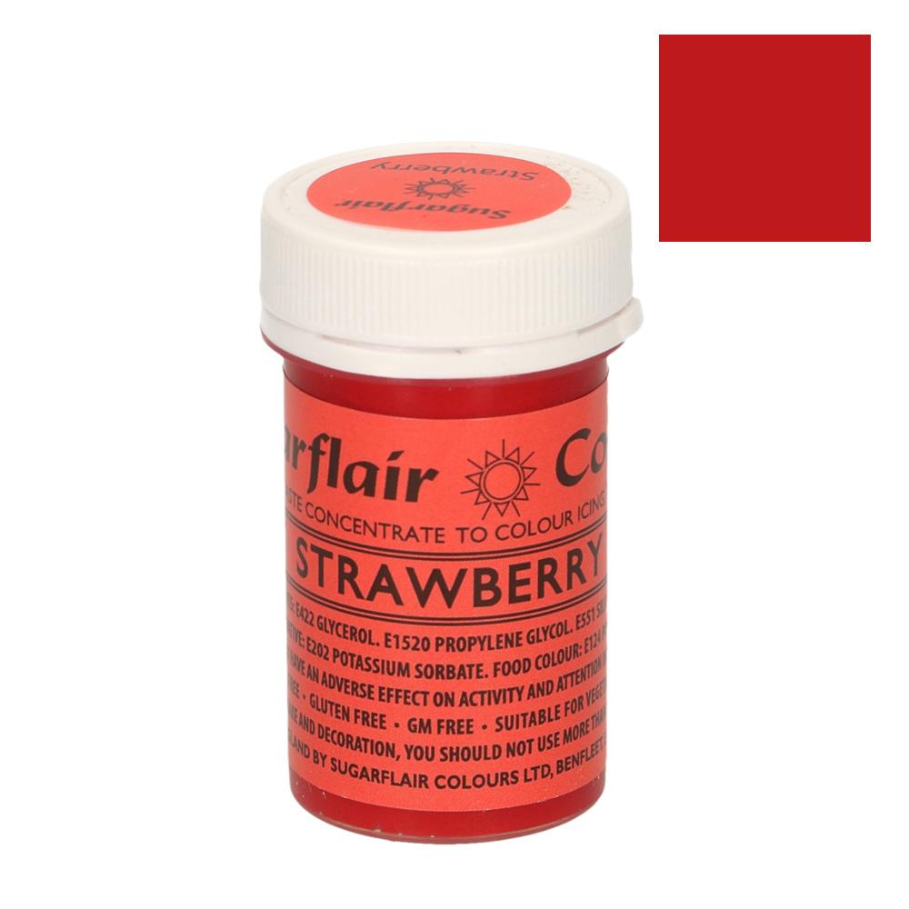 Colorante Sugarflair Rojo Fresa