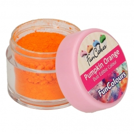 Colorante en Polvo Naranja Calabaza - Funcakes