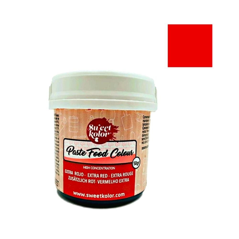 Colorante en Gel Extra Rojo 50 gr