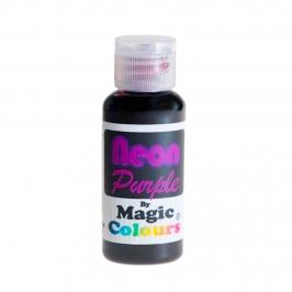 Colorante en Gel Neon Magic Colours Púrpura 32 gr