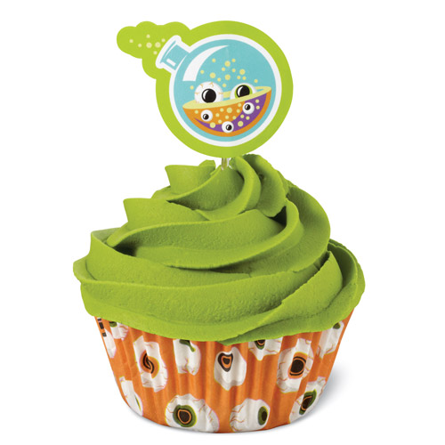Cupcakes Combo Eyeballs Wilton