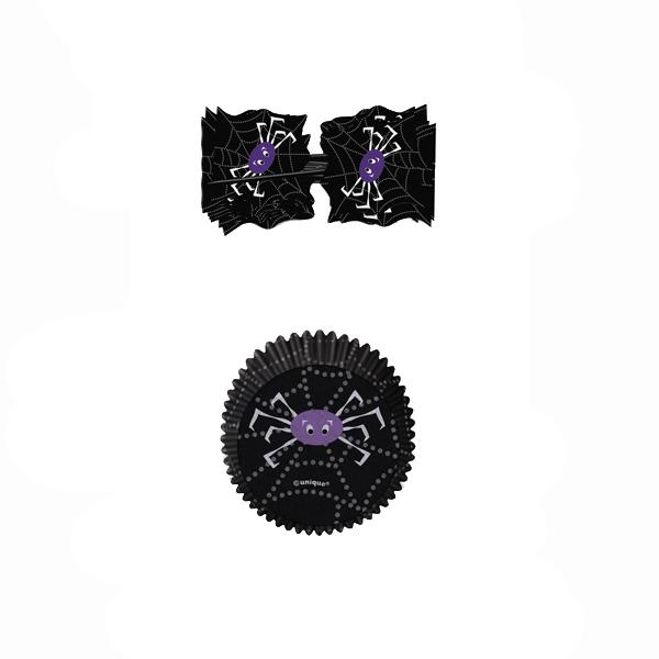 Combo Decoración Cupcakes Araña