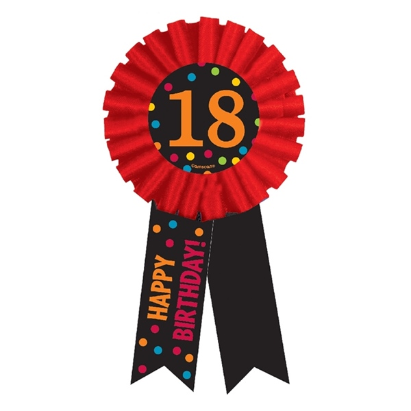Condecoración 18 Cumpleaños