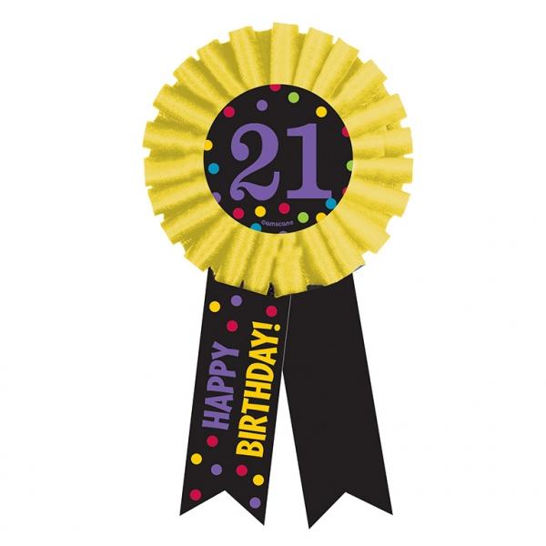 Condecoración 21 Cumpleaños