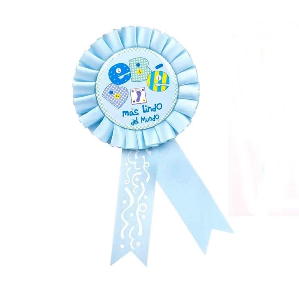 Condecoración Bebé Azul