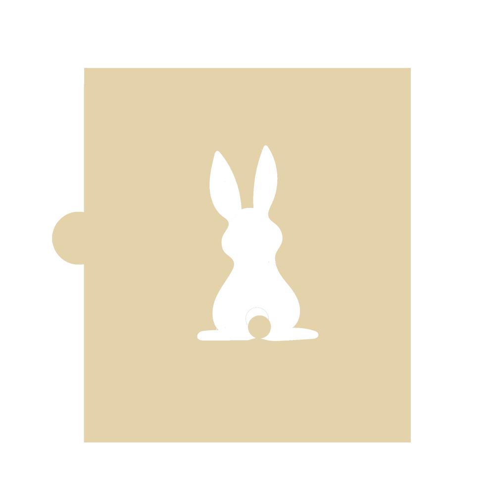 Stencil Conejo Rabito 5 cm
