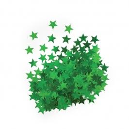 Confeti Estrellas Verdes