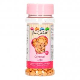 Confetti de azúcar Dorado