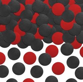 Confetti de Papel Negro y Rojo 5gr