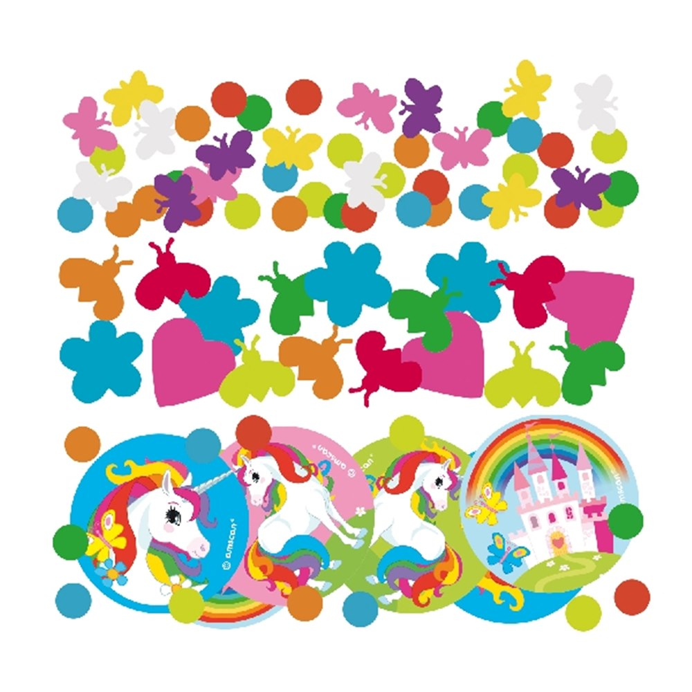 Confetti Decorativo Unicornio