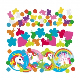 Confetti Decorativo Unicornio