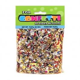 Confetti Metalizado Multicolor