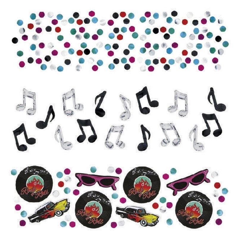 Confetti Rock and Roll