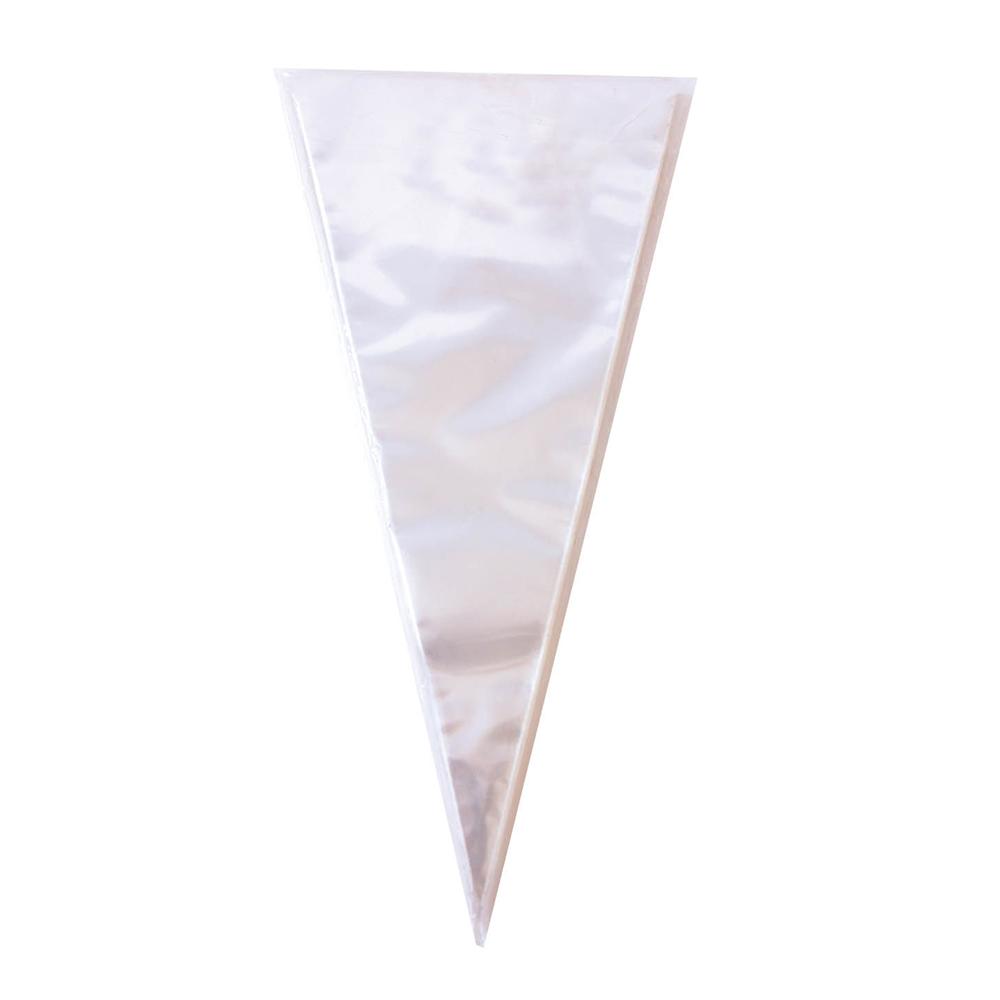 Set de 100 Conos para Chuches Transparente 41 cm