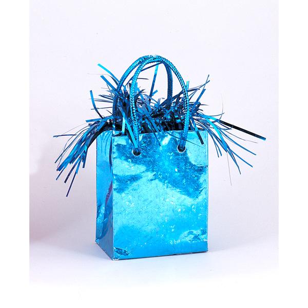 Contrapeso para Globos Bolsita Azul