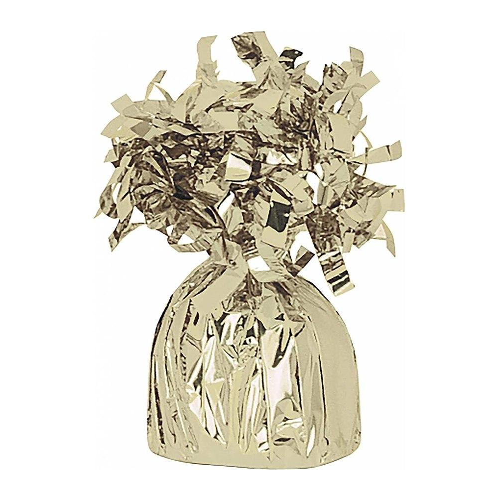 Contrapeso para Globos de Helio Amarillo Oro
