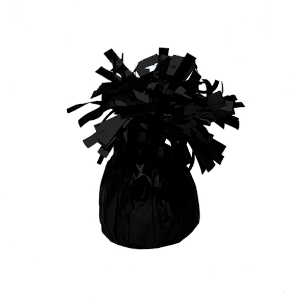 Contrapeso para globos de helio Negro 185 gr