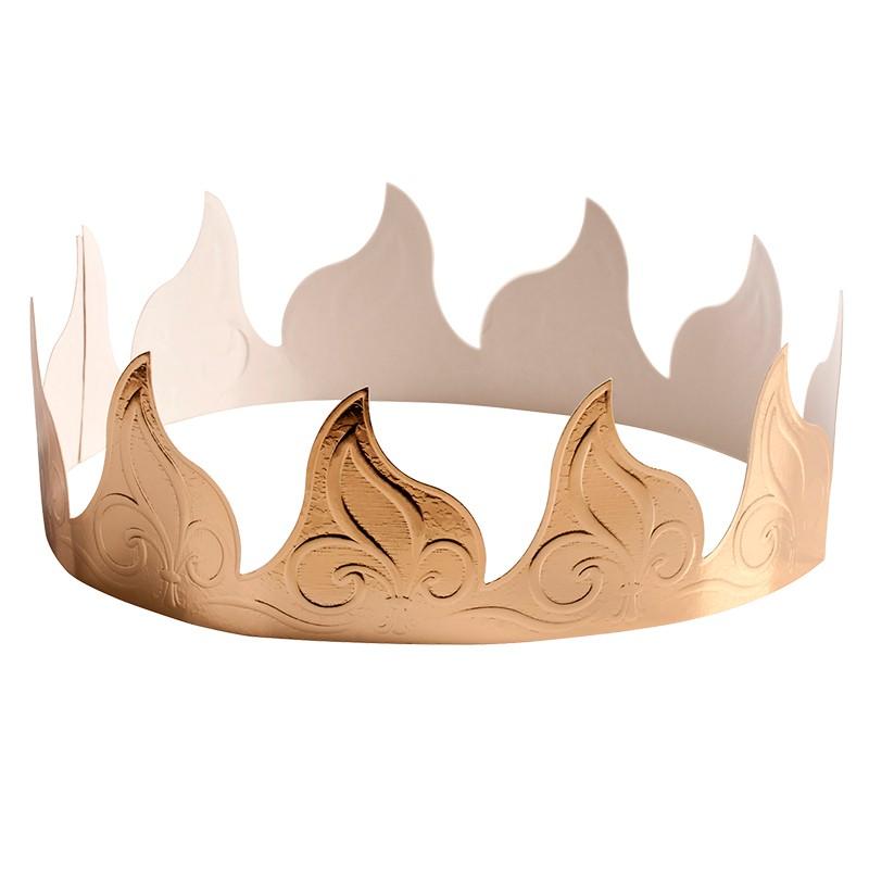 Corona Dorada para Roscón 100 unidades