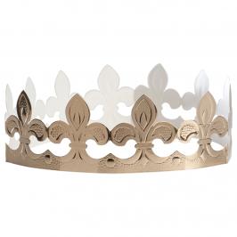 Corona Dorada para Roscón Flor de Lys