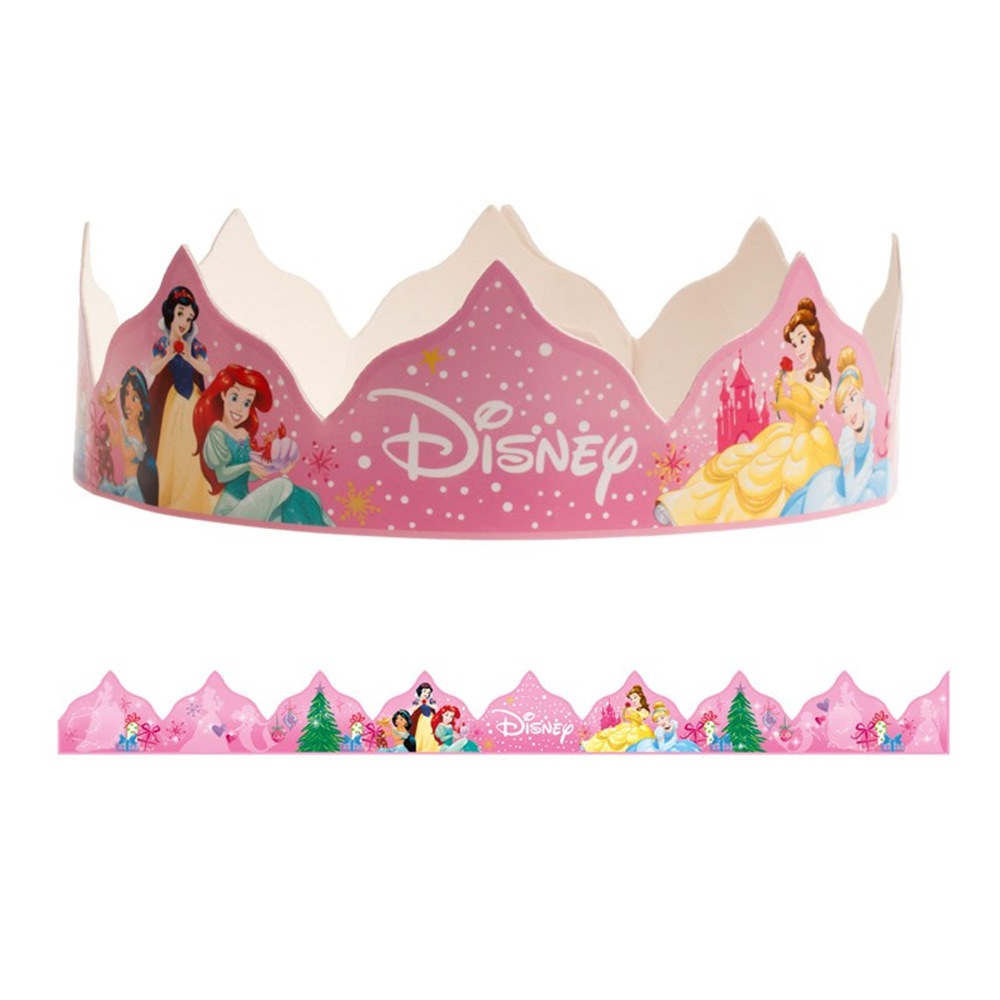 Corona para Roscón de Reyes Princesas Disney
