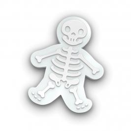 Cortador con Texturizador Esqueleto 14 cm