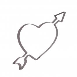 Cortador Corazón con Flecha Grande - My Karamelli
