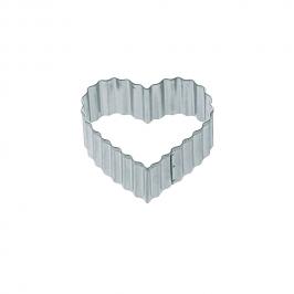 Cortador Corazón Ondulado