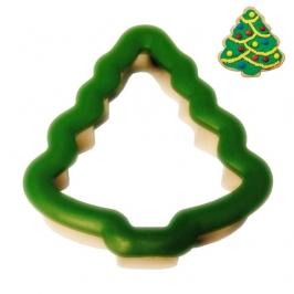 Cortador de galletas comfort grip árbol de navidad