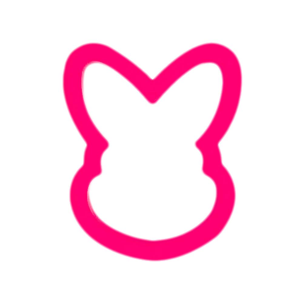 Cortador de Galletas Conejo 9,5 cm