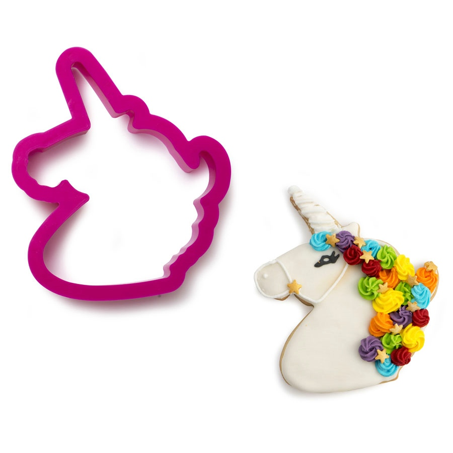 Cortador de Plástico Unicornio