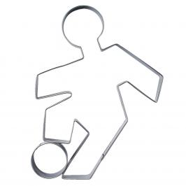 Cortador Futbolista 9cm