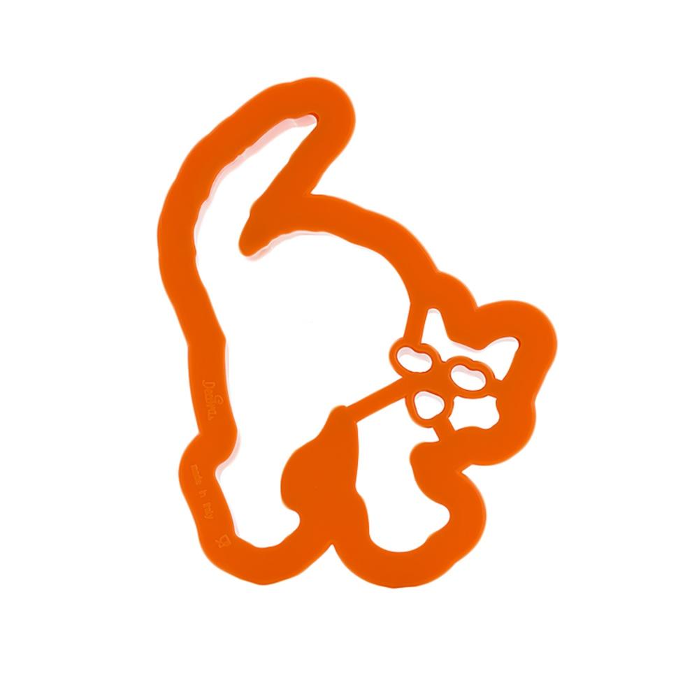Cortador Gato Halloween 10 cm