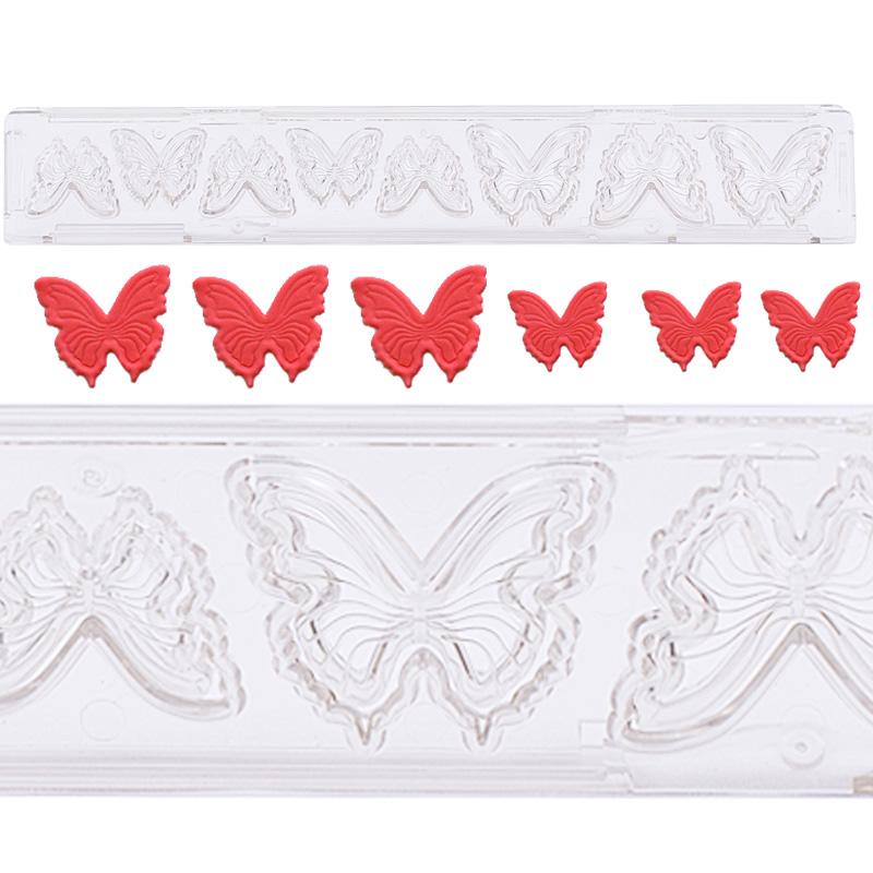 Cortador con Expulsor Clikstix Mariposas
