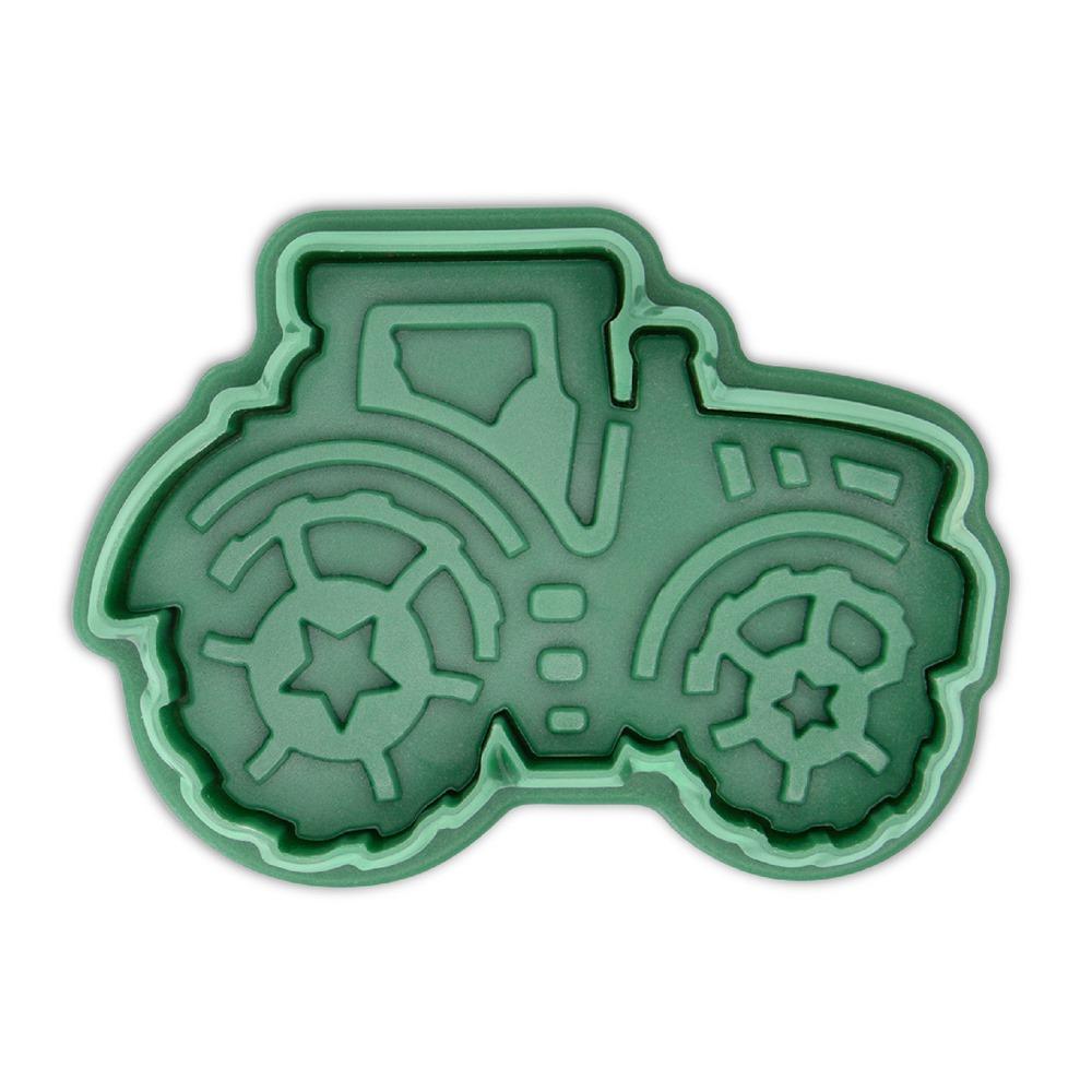 Cortador con Expulsor y Texturizador Tractor 6 cm