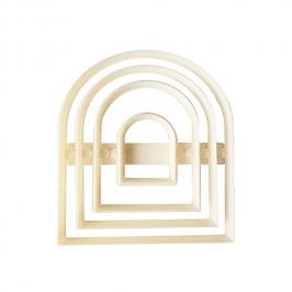 Set 4 Cortadores Arcos y Ventanas