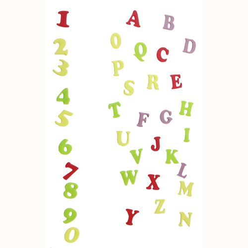 Set cortadores Letras y números Art Decó Mayúsculas