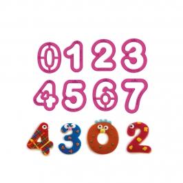 Cortadores de Galletas Números 5 cm