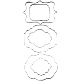 Cortadores para galletas Placas 6 Unidades