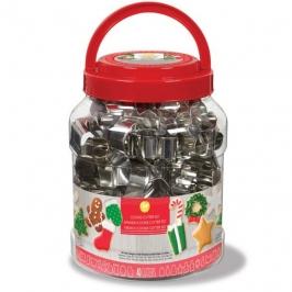 Cortadores de Galletas Navidad 40 ud