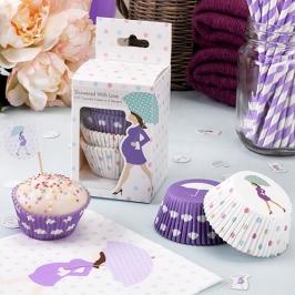 Cápsulas para Cupcakes Baby Shower