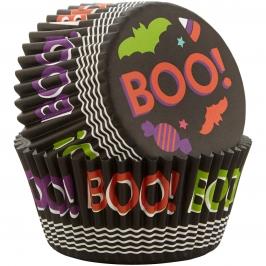 Cápsulas para Cupcakes Boo 75 uidades