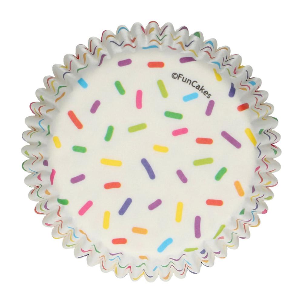 Cápsulas para Cupcakes Confeti 48 Unidades