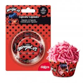 Cápsulas para cupcakes Ladybug