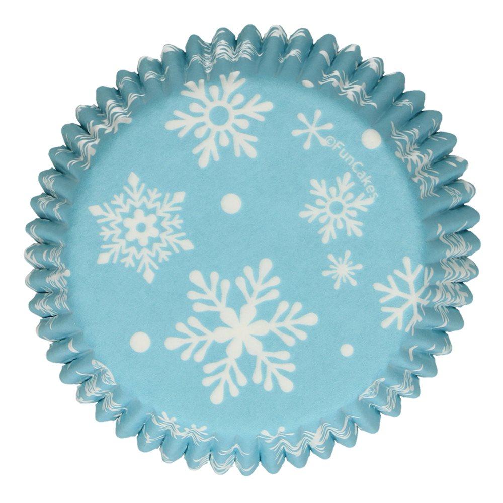 Cápsulas para cupcakes Snowflakes